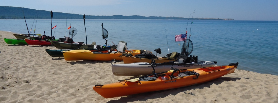 Homepage Slider 1 - kayaks on beach